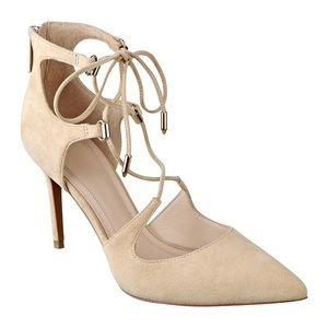 [Marc Fisher] Suede Strappy Stiletto High Heels